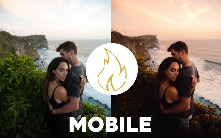 FIRE Collection - Mobile Presets