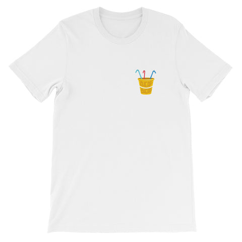 Cheap Cheap Bucket Tee - Yellow Logo