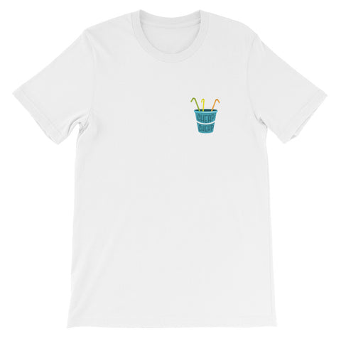 Cheap Cheap Bucket Tee - Blue Logo