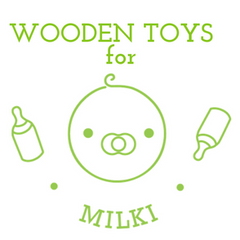 Wooden Toys for Milki www.gojomi.com