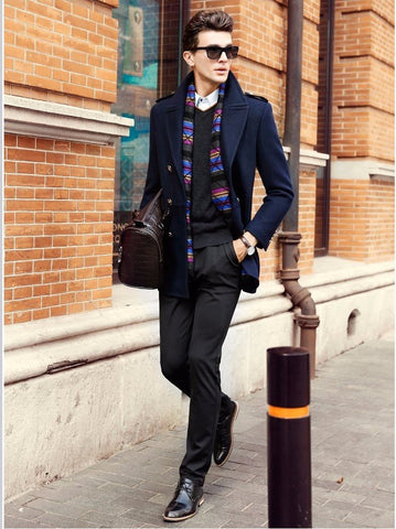 Men's Fashion - How to Choose the Perfect Peacoat Style