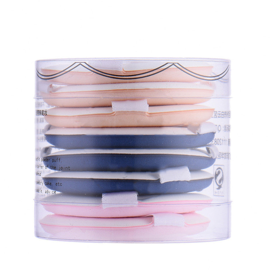 Beauty Pad Facial Sponge Makeup Foundation 8 pcs - Goggi, Jolli & Milki - www.gojomi.com