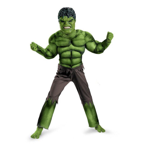Cosplay Comic Child The Incredible Hulk Muscle Suit