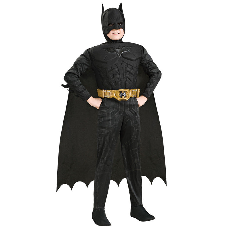 Cosplay Comic Child Batman The Dark Knight Muscle Suit - Goggi, Jolli & Milki - www.gojomi.com