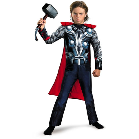 Cosplay Comic Child Thor Muscle Suit