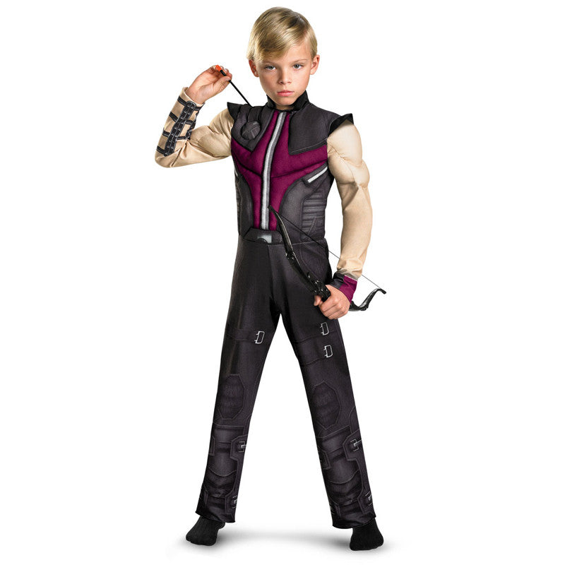 Cosplay Comic Child Hawkeye Muscle Suit