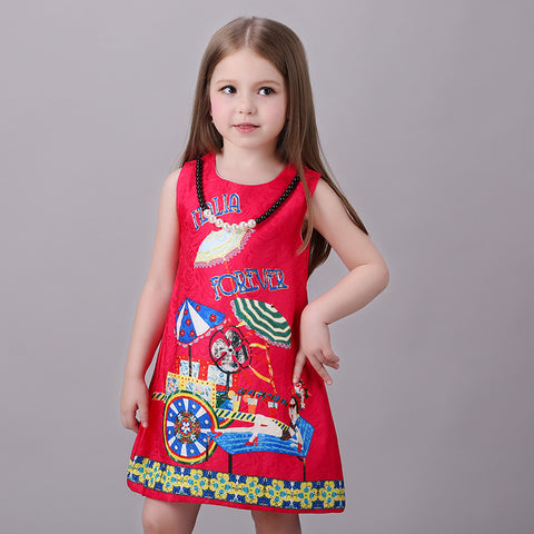 Girls Dress Casual Italia Forever - Goggi, Jolli & Milki - www.gojomi.com