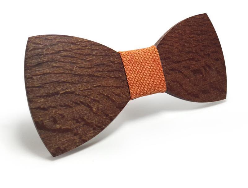Bunyan's Bow Ties - Butterfly Dark Handcrafted Wood
