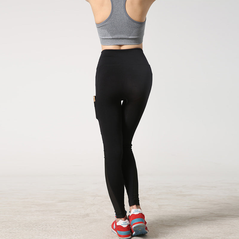 Women Sports Leggings with Side Pocket