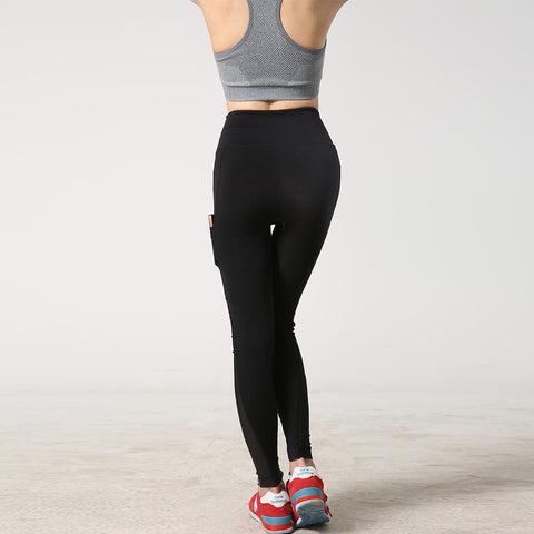 Women Sports Leggings with Side Pocket - Goggi, Jolli & Milki - www.gojomi.com