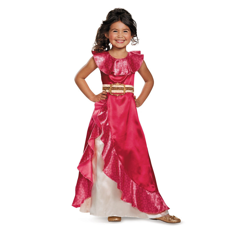 Cosplay Movie Child Princess Elena of Avalor Sparkle Dress - Goggi, Jolli & Milki - www.gojomi.com