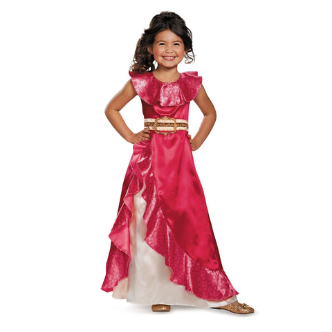 Cosplay Movie Child Princess Elena of Avalor Sparkle Dress