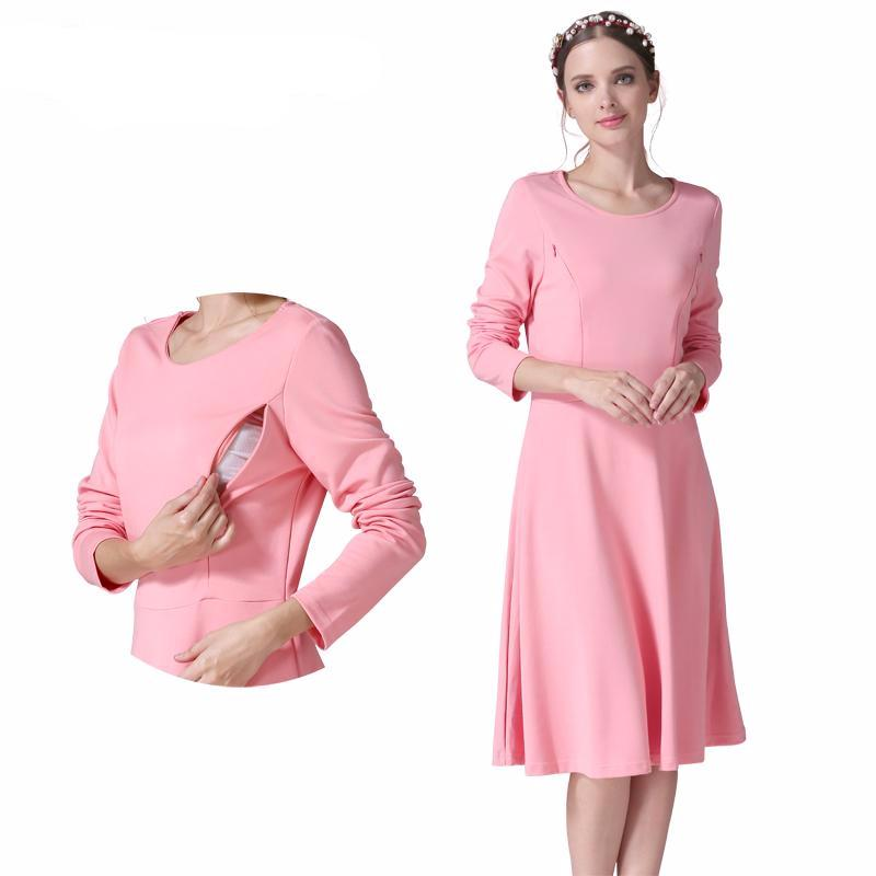 Maternity Dress Princess Full Sleeve
