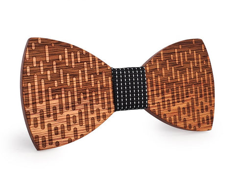Bunyan's Bow Ties - Butterfly Fading Handcrafted Wood