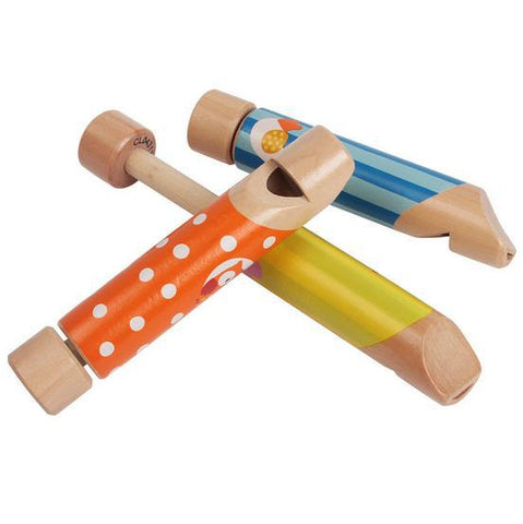 100% Free just pay shipping. Toy Wooden Musical Push and Pull Fipple Flute - Goggi, Jolli & Milki - www.gojomi.com