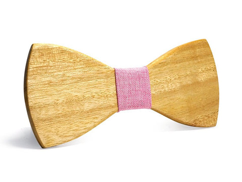 Bunyan's Bow Ties - Butterfly Classic Light Handcrafted Wood