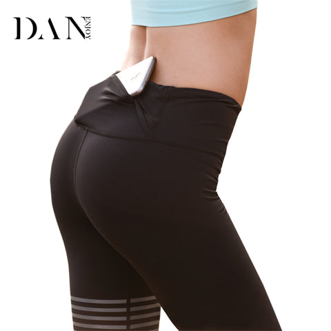 Women Sports Leggings with Back Pocket