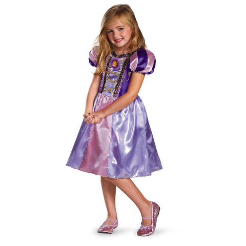 Cosplay Movie Child Princess Rapunzel Sparkle Dress