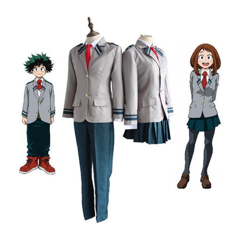 Cosplay Z! Anime Adult My Hero Academia - UA Academy School Uniform with Wigs - Goggi, Jolli & Milki - www.gojomi.com
