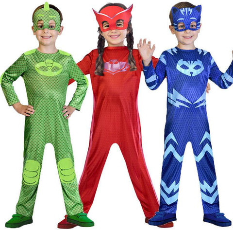 Cosplay Cartoon Child PJ Masks - Goggi, Jolli & Milki - www.gojomi.com