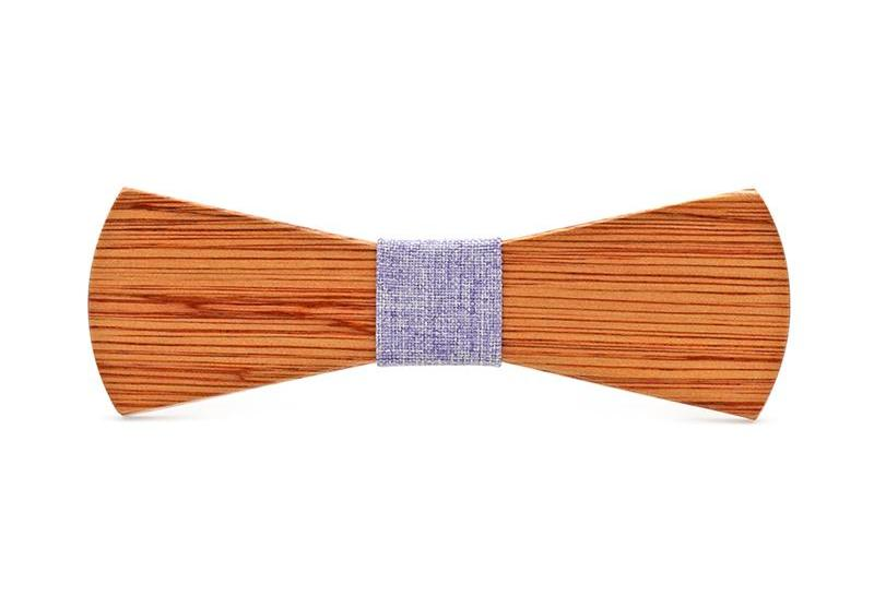 Bunyan's Bow Ties - Batwing Round Classic Plain Handcrafted Wood