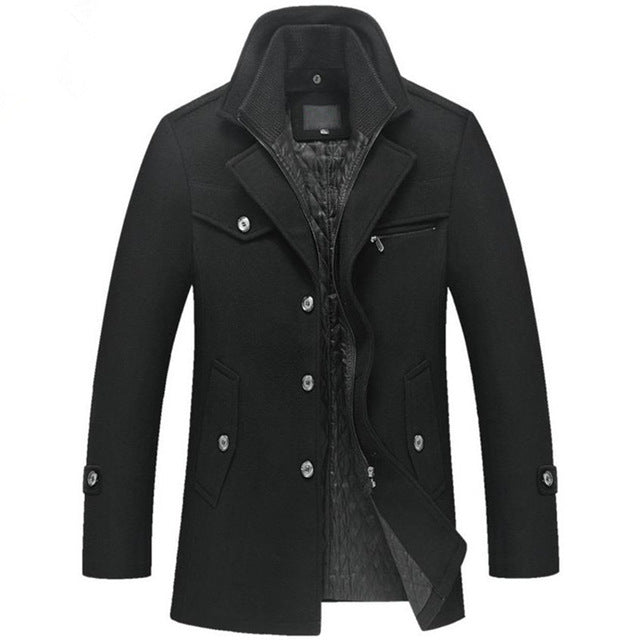Men's Jacket Car Three Button Notched Lapel Sports Casual - Goggi, Jolli & Milki - www.gojomi.com