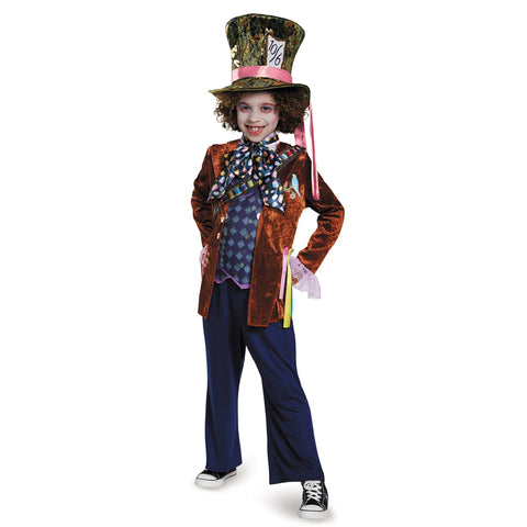 Cosplay Movie Child Mad Hatter Deluxe