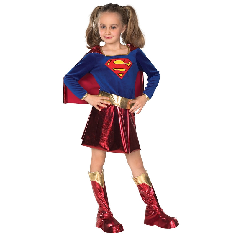 Cosplay Comic Child Supergirl with Cape