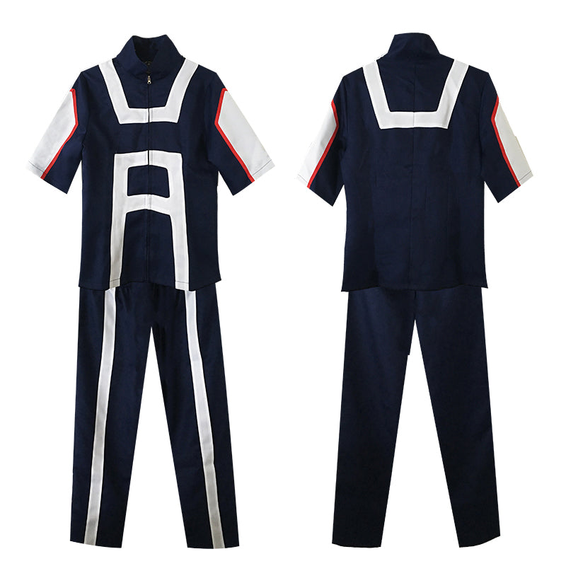 Cosplay Z! Anime Adult My Hero Academia - UA Academy Sports Uniform with Wigs - Goggi, Jolli & Milki - www.gojomi.com