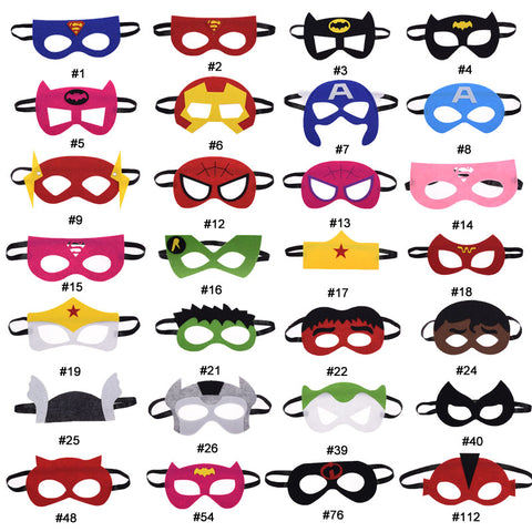 Cosplay Comic Child Mask Superheroes