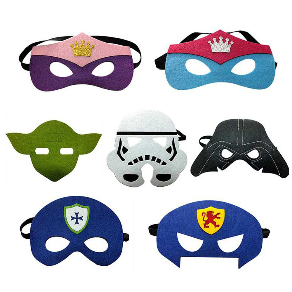 Cosplay Comic Child Mask Star Wars - Goggi, Jolli & Milki - www.gojomi.com