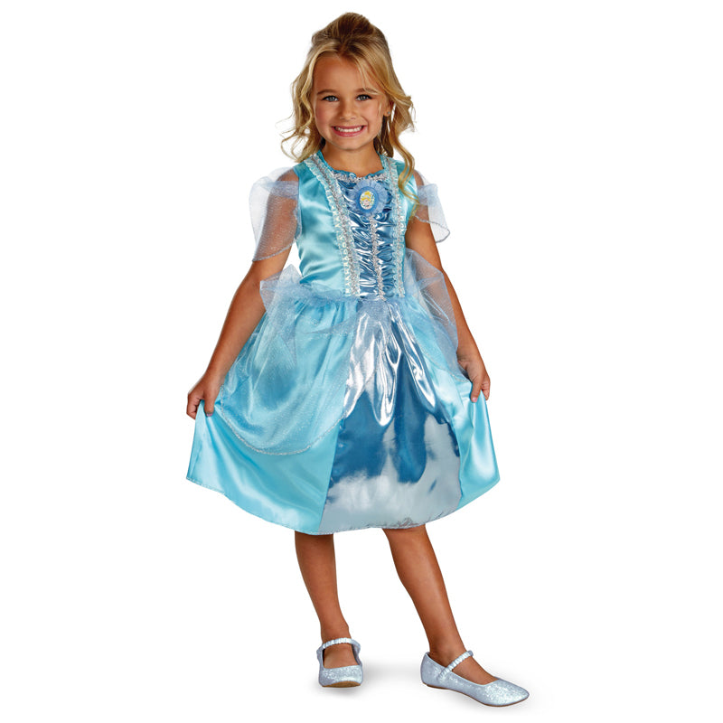 Cosplay Movie Child Cinderella Sparkle Dress - Goggi, Jolli & Milki - www.gojomi.com