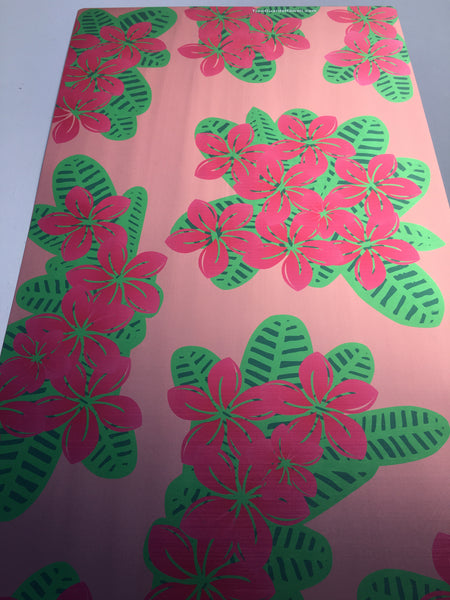 Pink/Dark Pink Plumeria Tree Guard (P4)