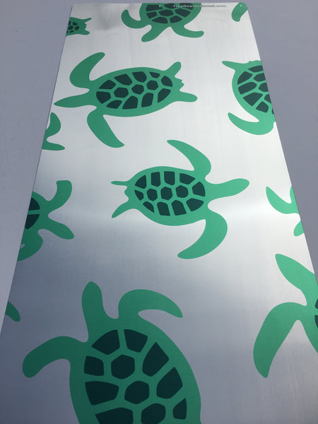 Chrome/Green Turtle Tree Guard (T4)