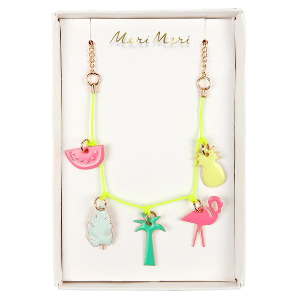 Necklace Charm Tropical
