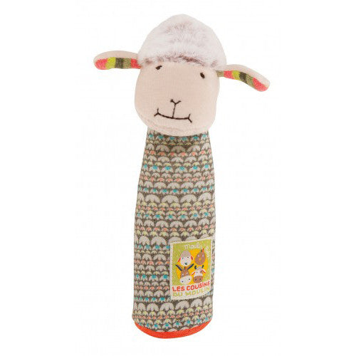 Le Cousins Sheep Squeaky Toy