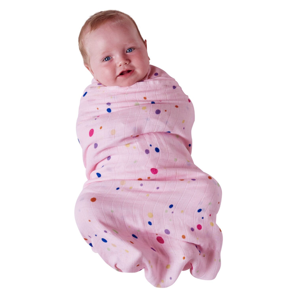 Bubbles Single Bamboo Swaddle