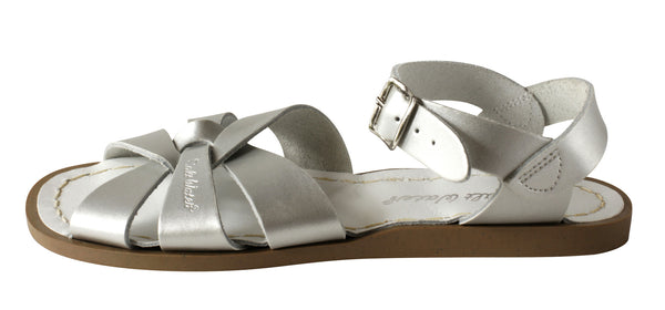 Salt Water Original Sandals Silver
