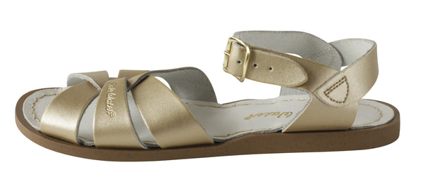 Salt Water Original Sandals Gold