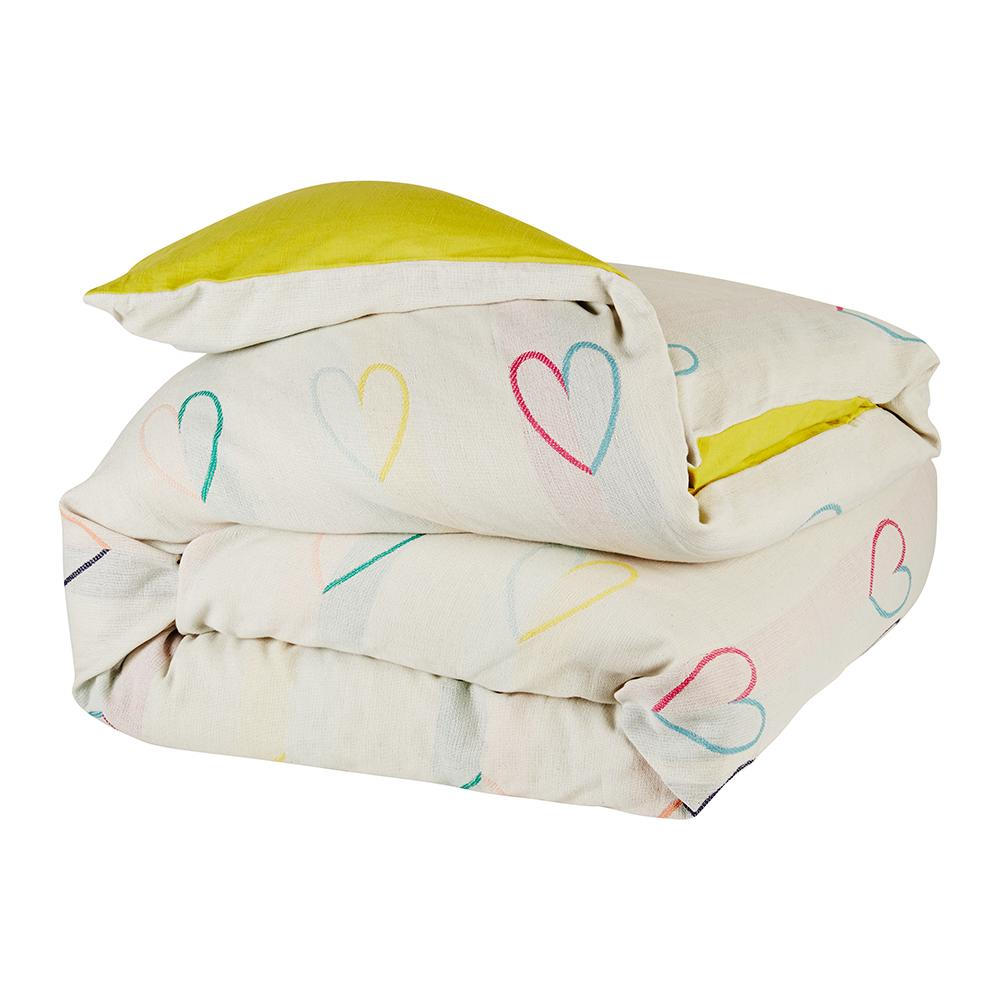 Molly Heart Quilt Cover Single