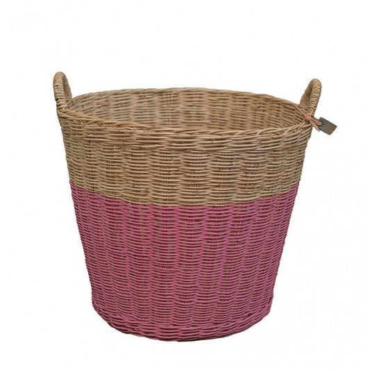 Rattan Basket Rose