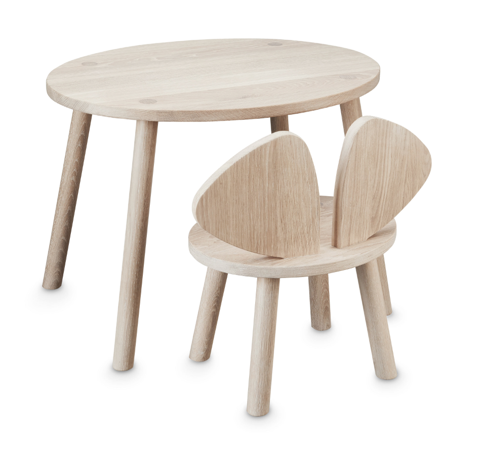 Mouse Table & Chairs