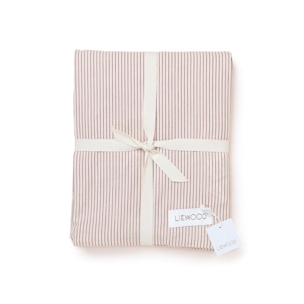 Stripe Duvet Cover Sweet Rose