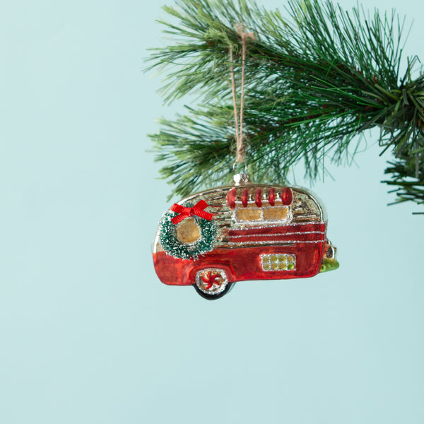Christmas Caravan Heirloom Decoration
