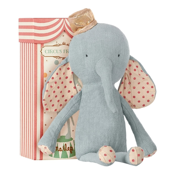 Elephant with Hat Blue