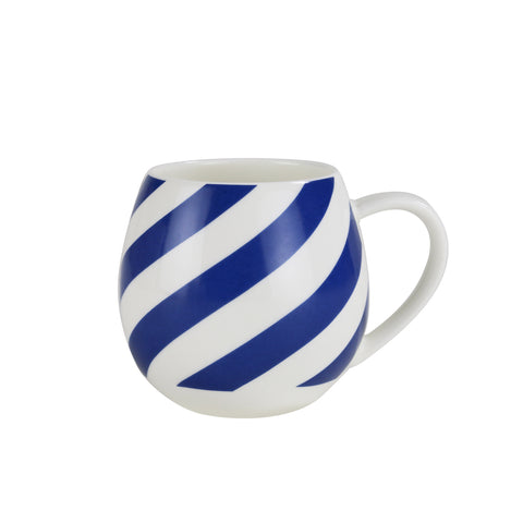 Mini Hug Me Mug Blue Stripe