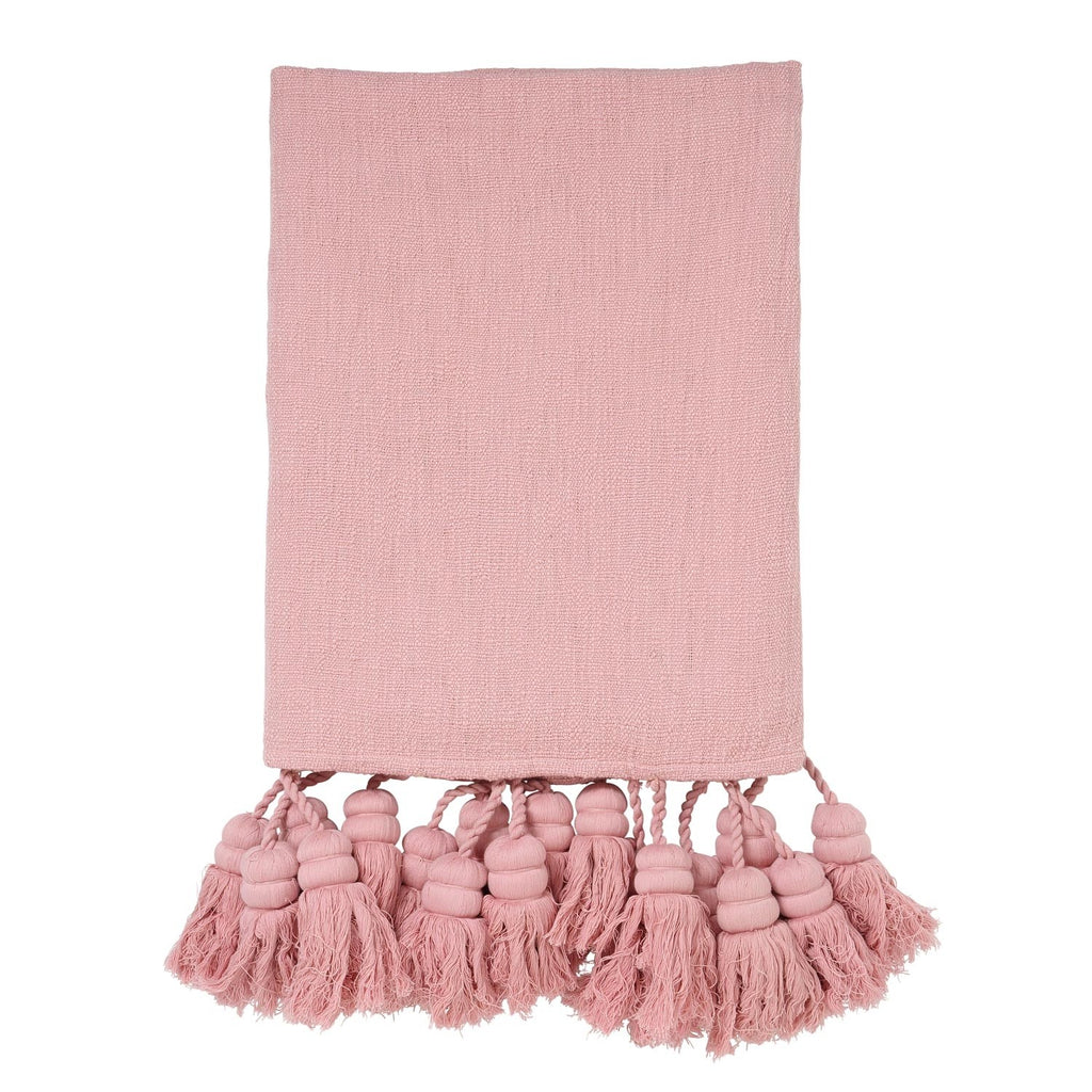 Bare Tassel Throw
