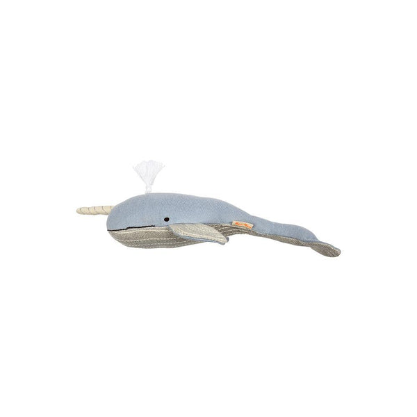 Milo Knitted Norwal Whale Small
