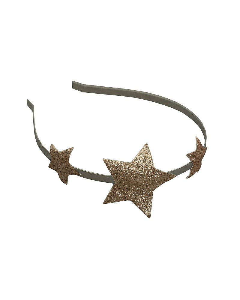 Star Headband Glitter Gold