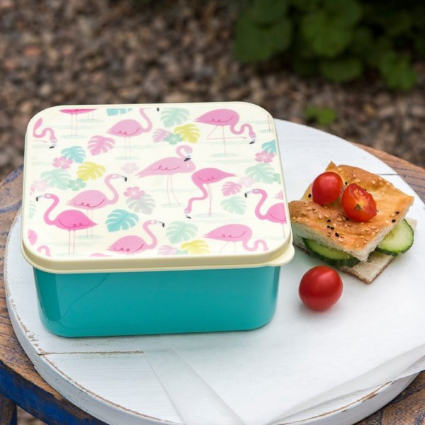 Lunch Box Flamingo Bay
